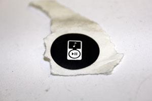 Sticker Audio In Afg 2-0AT