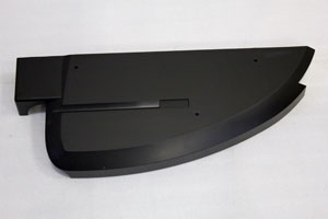 Cover Console Mast R Out side ABS 75140 Afg 2-0AT