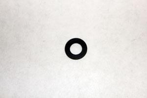 Washer Flat8.3x16x1.3T Black Zinc Afg 2-0AT